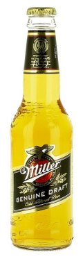 Miller Genuine Draft (MGD) - Pale Lager