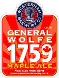 Westerham General Wolfe 1759 Maple Ale - Bitter