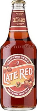 Shepherd Neame Late Red (Bottle) - Premium Bitter/ESB