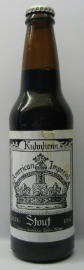 Kuhnhenn American Imperial Stout - Imperial Stout