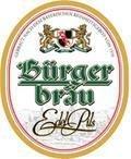 B�rgerbr�u Bayreuth Edel Pils - Pilsener