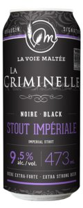 La Voie Malt�e Criminelle - Imperial Stout