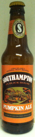 Southampton Pumpkin Ale - Spice/Herb/Vegetable