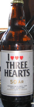 Three Hearts 50 �r - Pale Lager