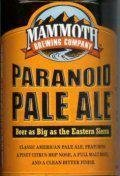 Mammoth Paranoid Pale Ale