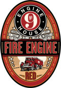 Engine House No. 9 Fire Engine Red
