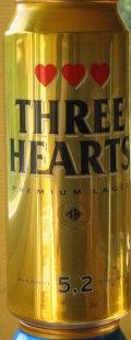 Three Hearts Premium Lager - Premium Lager