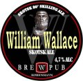 Brewpub K�benhavn William Wallace - 80 Skilling Ale - Scottish Ale