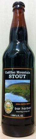 Bar Harbor Cadillac Mountain Stout - Foreign Stout