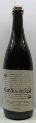 Goose Island Bourbon Imperial Brown Goose (Bottled) - American Strong Ale
