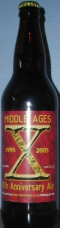 Middle Ages X Double India Pale Ale - Imperial/Double IPA