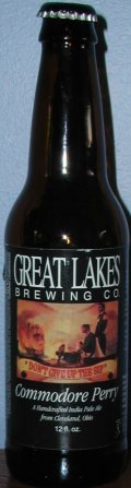 Great Lakes Commodore Perry IPA - India Pale Ale (IPA)