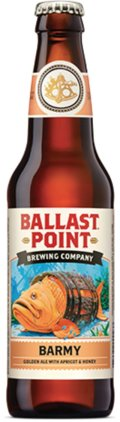 Ballast Point Barmy Apricot Ale - Fruit Beer