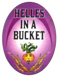 Wild Onion Helles in a Bucket