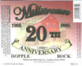 Millstream 20th Anniversary Dopplebock