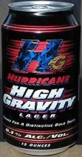 Hurricane High Gravity Lager - Malt Liquor