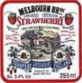 Melbourn Brothers Strawberry - Fruit Beer
