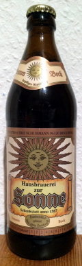 Brauerei zur Sonne Sonnen Bock