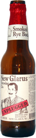 New Glarus Unplugged Smoked Rye Bock - Smoked