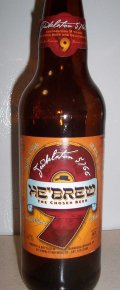 He�Brew Jewbelation 5766 Ninth Anniversary Ale - American Strong Ale