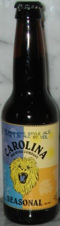 Carolina Old 392 Barleywine Style Ale