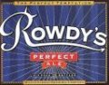 Water Street Brewing Rowdys Perfect Ale