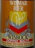 Wismar Bier Wisbock - Dunkler Bock