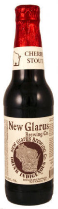 New Glarus Thumbprint Series Cherry Stout  - Fruit Beer