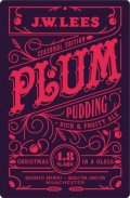 J.W. Lees Plum Pudding