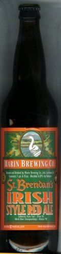 Marin St Brendans Irish Red - Irish Ale