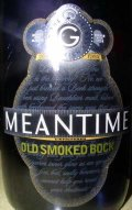 Meantime Old Smoked Bock