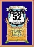 Twin Lakes Route 52 Pilsner