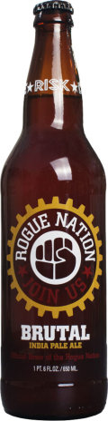 Rogue Nation Brutal India Pale Ale - India Pale Ale (IPA)