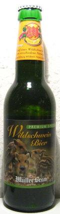 M�ller Br�u Wildschweinbier Premium Spezial