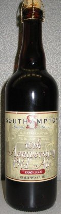 Southampton 10th Anniversary Old Ale - Old Ale