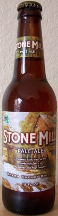 Green Valley Brewing Stone Mill Pale Ale - American Pale Ale