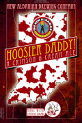 New Albanian Hoosier Daddy Crimson & Cream Ale