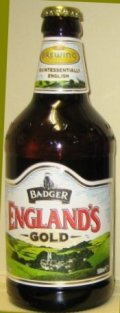 Badger Englands Gold