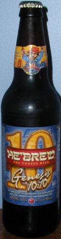HeBrew Genesis 10:10 - American Strong Ale