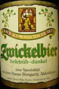 Zwickelbier nach Alt-Monschauer Art Dunkel - Zwickel/Keller/Landbier