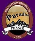 Grand Teton Paradise Pilsner