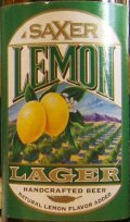 Saxer Lemon Lager - Fruit Beer