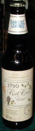 Samuel Adams 1790 Root Beer Brew - Spice/Herb/Vegetable
