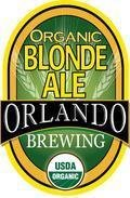 Orlando Brewing Organic Blonde Ale