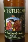 Le Terroir Cidre Biologique