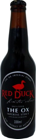 Red Duck Limited Release The Ox