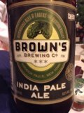 Brown�s India Pale Ale