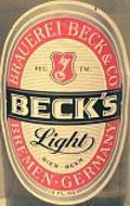 Beck�s Light - Pale Lager