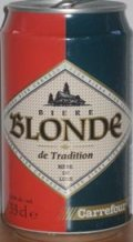 Carrefour Biere Blonde de Tradition (Biere de Luxe)