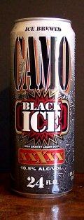 Camo Black Ice High Gravity Lager